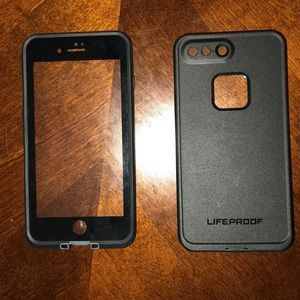 iPhone 7plus Lifeproof case.